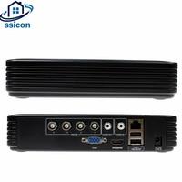 SSICON AHD 4CH CCTV DVR Mini DVR 5IN1 For CCTV Kit VGA HDMI Surveillance Security CCTV