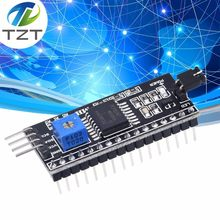 IIC I2C TWI SPI Interface série carte Port pour Arduino 1602 2004 LCD LCD1602 adaptateur plaque LCD adaptateur convertisseur Module PCF8574(China)