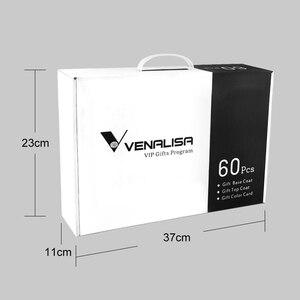 Image 4 - new 60 fashion color Venalisa uv nail gel polish kit vernish color gel polish for nail art design whole set nail gel learner kit