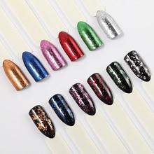 ROSALIND 1PCS Nail Mirror Effect Powder polishing for nail art glitter manicure Decoration Chrome Pigment Sequins nails powder