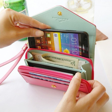 5 5 Wallet Case Women Girl PU Leather Pouch Cover For iPhone 7 6 6S Plus