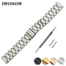 Stainless Steel Quick Release Watch Band 18mm 20mm 22mm 24mm for Timex