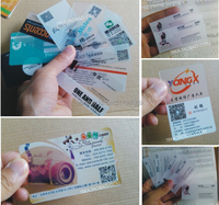 Free Shipping DHL UPS PVC Business Card Vip Card Single Sided Double Sided Inkjet Printing White