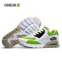Hombres de los Zapatos Corrientes Max Niza Retro Correr Zapatillas deportivas Para Las Mujeres Verde Blanco Zapatillas Hombre Calzado Deportivo Zapatillas Para Caminar Al Aire Libre