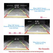 4 Alarm Beep Show distance on Display Sensor