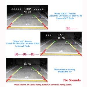 Image 2 - Koorinwooデュアルコアcpuビデオシステム駐車場センサー逆バックアップレーダー4アラーム音ディスプレイ上の表示距離センサー