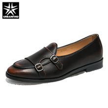 URBANFIND mens shoes casual plus size leather luxury designer social driving brand adult fashion dress moccasins men loafers(China)