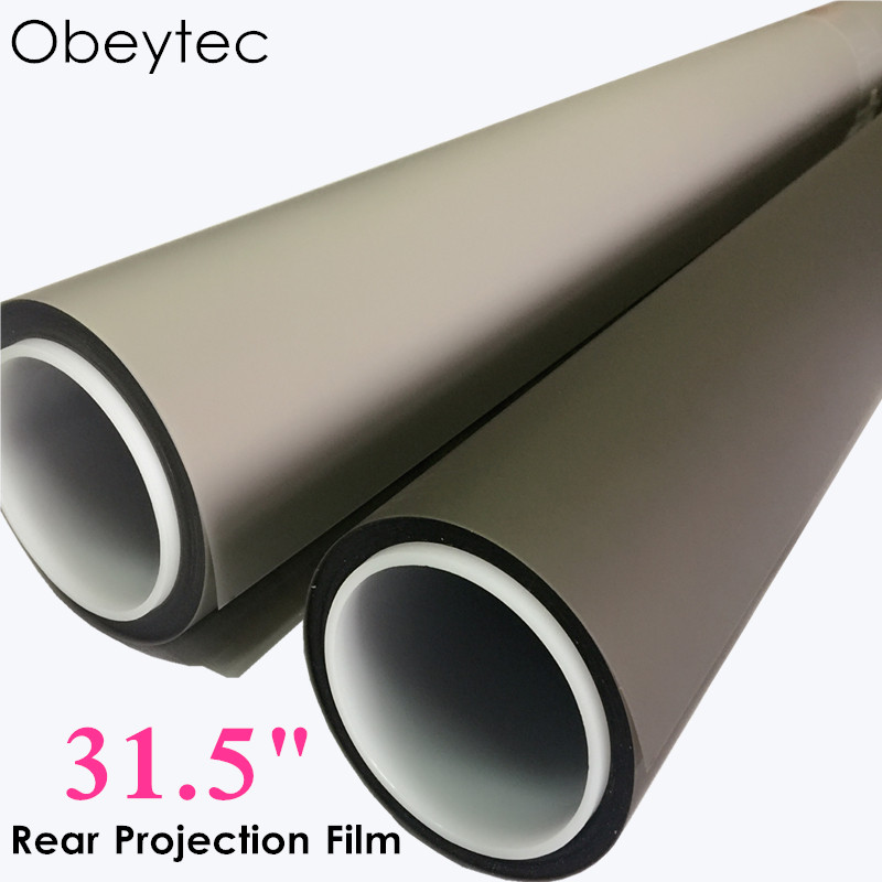 Obeytec 31.5 Advertising hologram holographic rear adhesive film projection projector screen film foil  Obeytec 31.5 Advertising hologram holographic rear adhesive film projection projector screen film foil