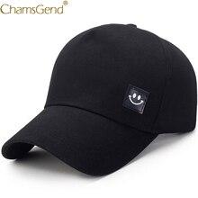 Одноцветная летняя шапка со смайликом, унисекс, для женщин и мужчин, повседневные бейсболки, Снэпбэк, в стиле хип-хоп, уличная одежда, козырьки, бейсболки, 90214