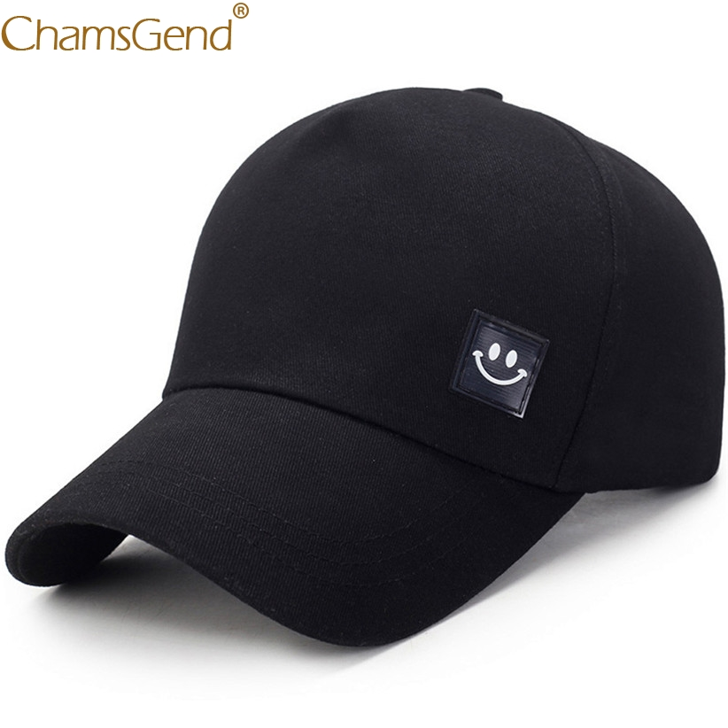 Smiling Face Solid Summer Hat Unisex Women Men Casual   Baseball     Caps   Snapback Hip Hop Streetwear Visors   Baseball   Hats 90214