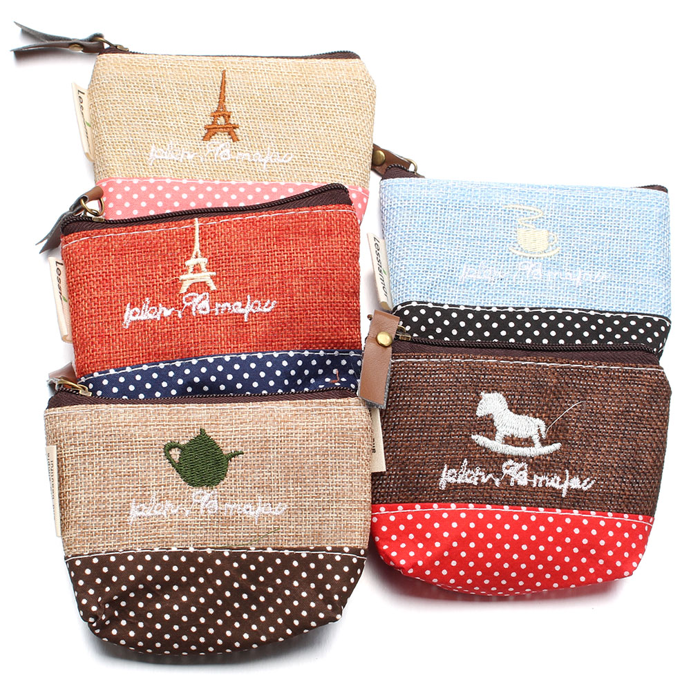 New Snap Jewelry Linen Woven 18MM Snap Buttons Bags Coin Purse Wooden Horse Eiffel Tower ...