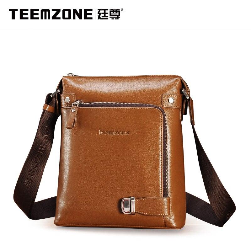 Teemzone Crossbody Bag Mäns Messenger Bag Märke Handväska Casual - Handväskor