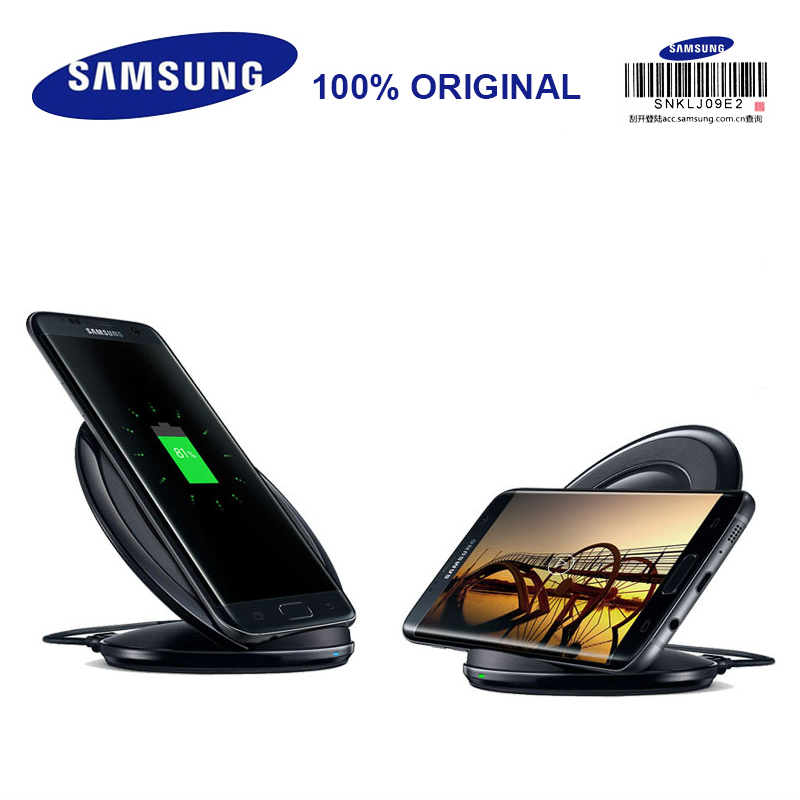 Samsung EP-NG930 Fast Wireless Charger Black/ White Wireless Charging BOX for Galaxy S8/S8+ S7/S7 Edge S6Edge+ Note5 Smartphones