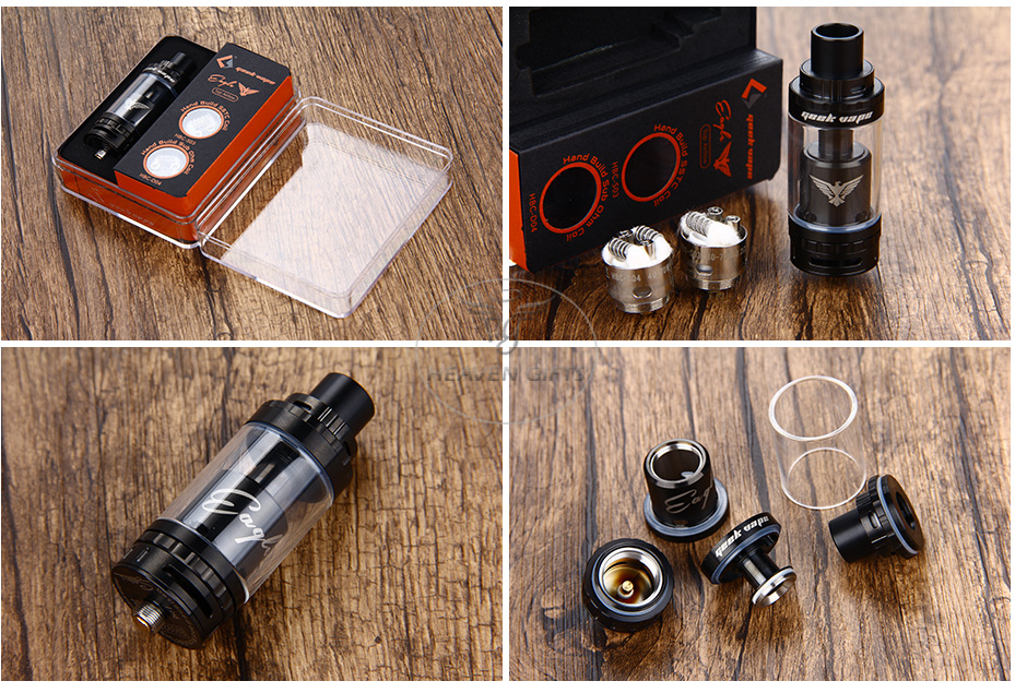 GeekVape Eagle Tank With HBC Top Airflow Version - 6ml5