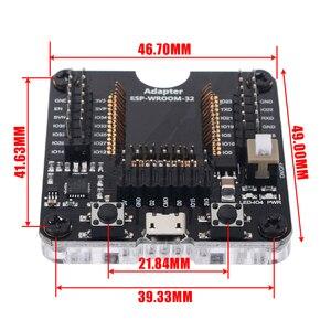 Image 5 - Bán 1 ESP Mô Đun Mới Lập Trình Viên Công Cụ ESP32 Adapter Ổ Cắm Cho ESP WROOM 32 Mô Đun Mayitr