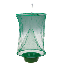 Get more info on the 1Pcs Pest Control Hanging Fly Catcher Reusable Killer Flies Flytrap Zapper Cage Net Trap Garden Home Yard Supplies H