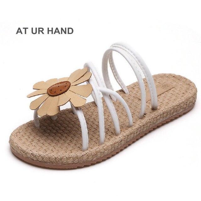 0a30d985ea53d4 Summer Women Sandals Bohemia Comfortable Ladies Shoes Beach Sandal Women  Casual Female Flat Sandals Fashion Shoe Size 35-40