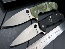 5PCS/LOT High quality Knives C101 G10 handle 9cr13 steel blade folding knife outdoor camping survival tool Tactical with 2 model