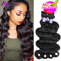 Peruvian Body Wave 3 Bundles Cheap Human Hair Extensions 8A Peruvian Virgin Hair Body Wave 100g/Pcs Peruvian Body Wavy Hair