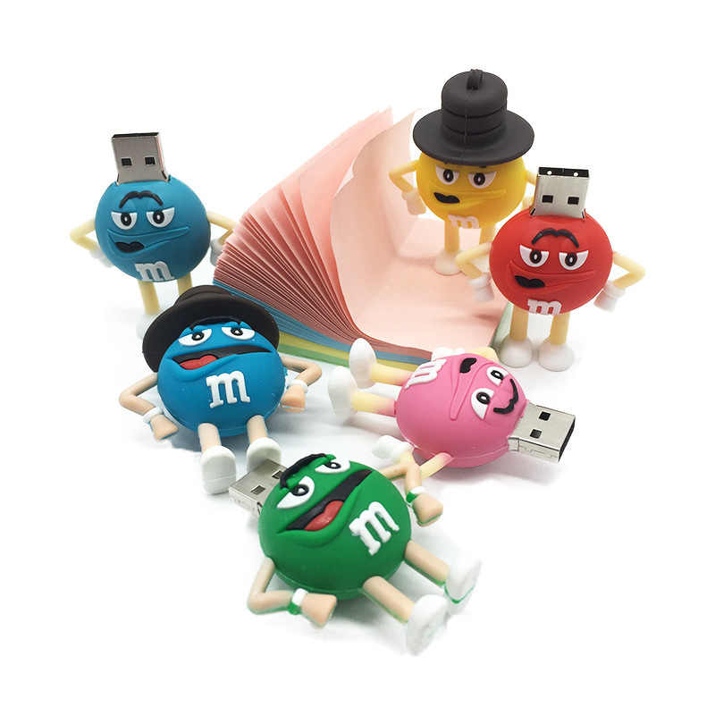 XIWANG Chocolate Bonito Flash Drive GB 8 4 GB GB GB 64 32 16 GB USB Dos Desenhos Animados Pen Drive USB empresa Presentes Flash Drive Flash Stick