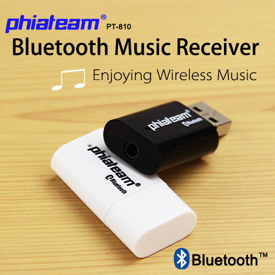 Wholesale PHIATEAM PT-810 USB Speaker bluetooth receiver usb audio receiver audio Bluetooth wireless speaker Music Converter