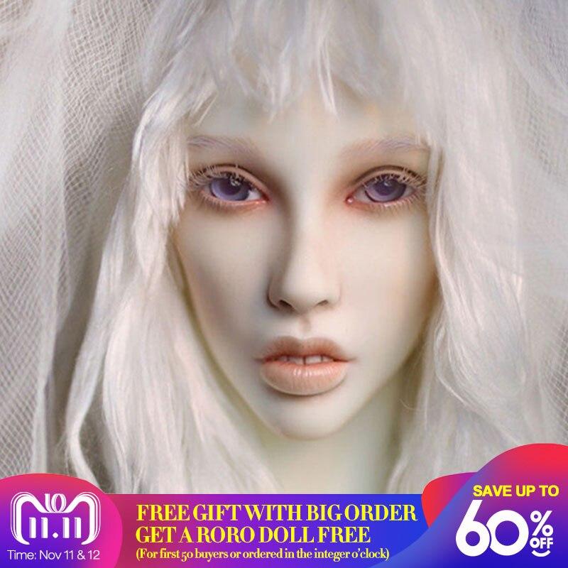 Dollshe craft DS -snow 26F 1/3 body model girl bjd sd doll oueneifs High Quality resin toys free eye beads shop