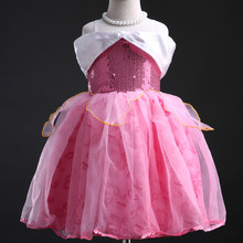 Baby Girl Princess Sleeping Beauty Costume Dress Evening Dress Girl Dress
