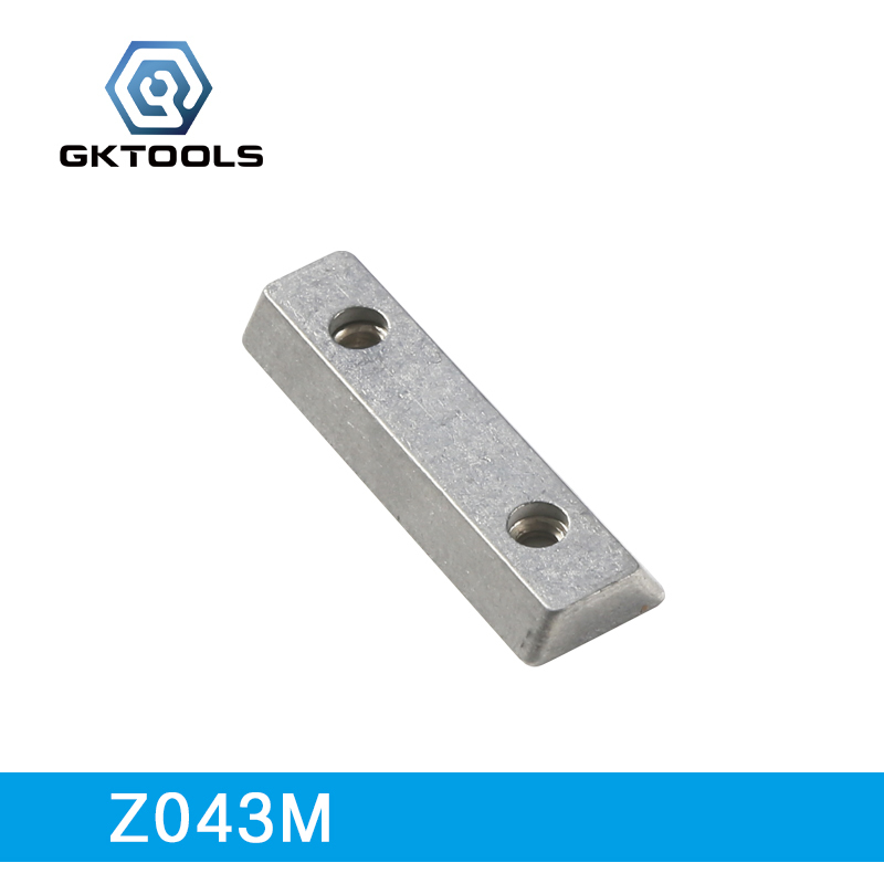 GKTOOLS, 6 Pieces/lot, Metal Double Slot Nut, Z043M