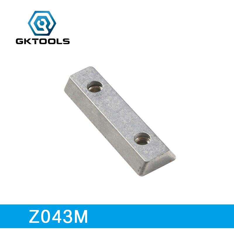 GKTOOLS, 6 Pieces/lot, Metal Double Slot Nut, Z043M