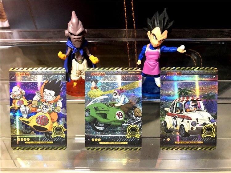 18pcs Super Dragon Ball Z First Bullet Heroes Battle Card Goku Vegeta Super Game Collection Cards