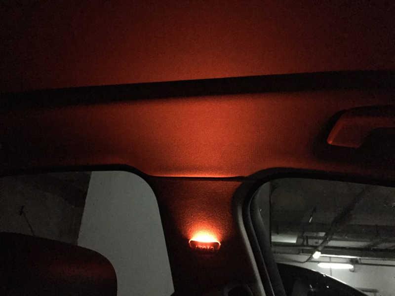 B-stijl side licht met twee schakelbare licht kleur voor BMW 3 serie F30 F35