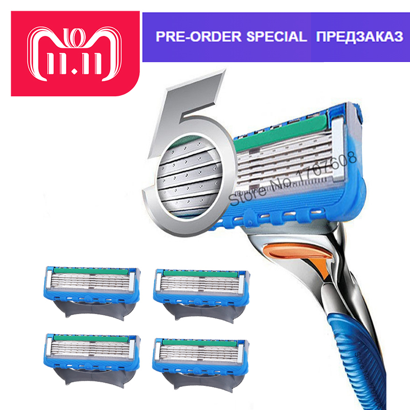 4pcslot Top Quality After Improve Razor Blade Replace 5 Layer Razor Blade Replace