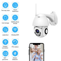 1080P Full HD 2MP Wireless Wifi IP CCTV Camera Color PTZ Outdoor Waterproof Night Vision Anti thief Security Surveilance Probe