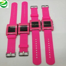 ZycBeautiful for E-Paper Smartwatch Multi-Functions Pebble Sports Watch 5-ATM Waterproof Smart Watch Limited edition pink color