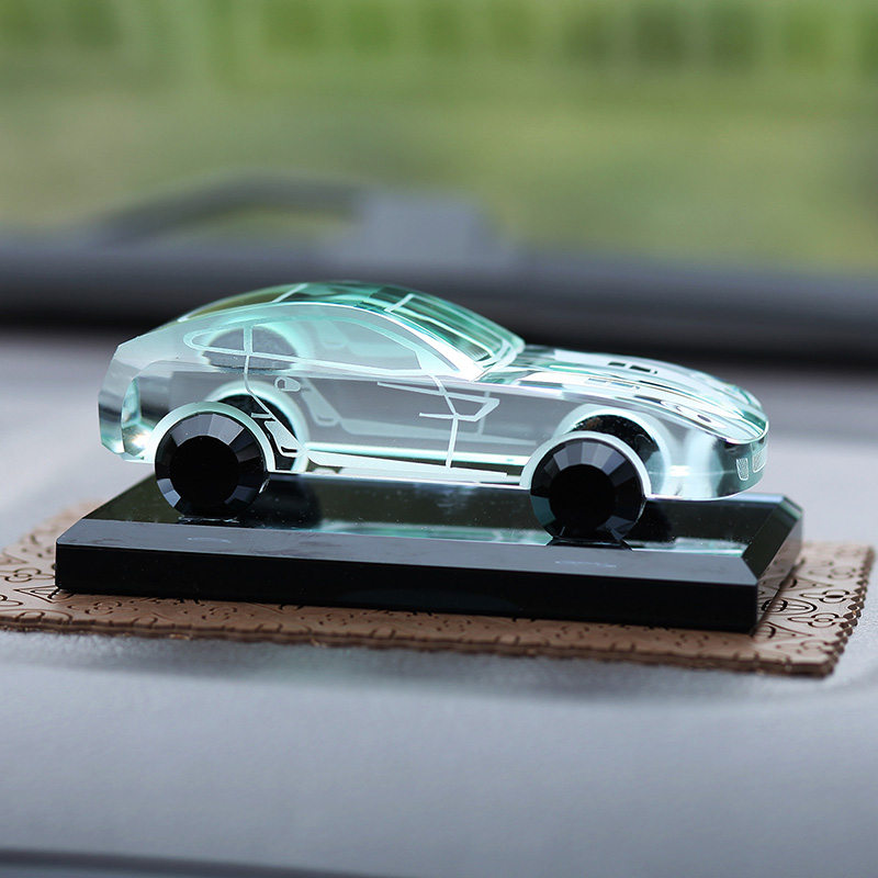 Superb Luxury Car Dashboard Perfume Ornaments Auto Interior Accessories Decoration  Replica Crystal For Ferrari And Other All Cars In Ornaments From  Automobiles ...