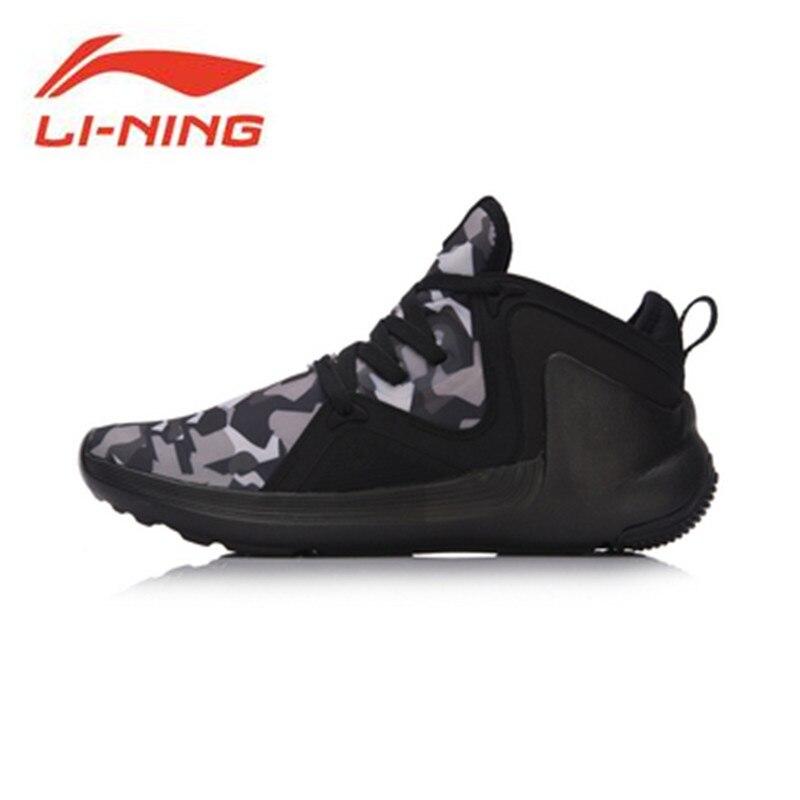 Li-Ning Men Shoes APOSTLE Wade Basketball Culture Sport Shoes Warm Comfort Sneakers Textile Li Ning Sports Shoes AGWM005