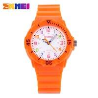 Skmei Children Watch Fashion Casual Watches Quartz Wristwatches Waterproof Jelly Kids Clock Boys Hours Girls Students
