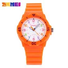 Skmei Reloj de Los Niños de Moda Casual Relojes de Pulsera de Cuarzo Jalea Impermeable Niños chicos Reloj Horas chicas Reloj de Pulsera Estudiantes