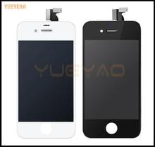 Yueyao Высокое качество для IPhone 4 4S ЖК-дисплей Дисплей планшета с Сенсорный экран сборки Замена