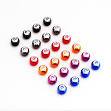 4 X Number 8 Car Wheel Valve Caps Air Auto Airtight Cover for Audi BMW Ford Focus Motorcycle Volkswagen Renault Opel Smart(China)