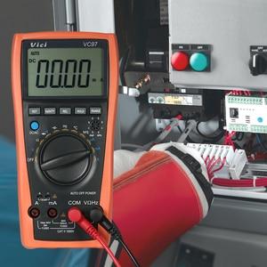 Image 5 - VC97A 新 VC97 デジタルマルチメータオートレンジ 1000 V DMM 温度検出器 DC AC 電圧電流計容量
