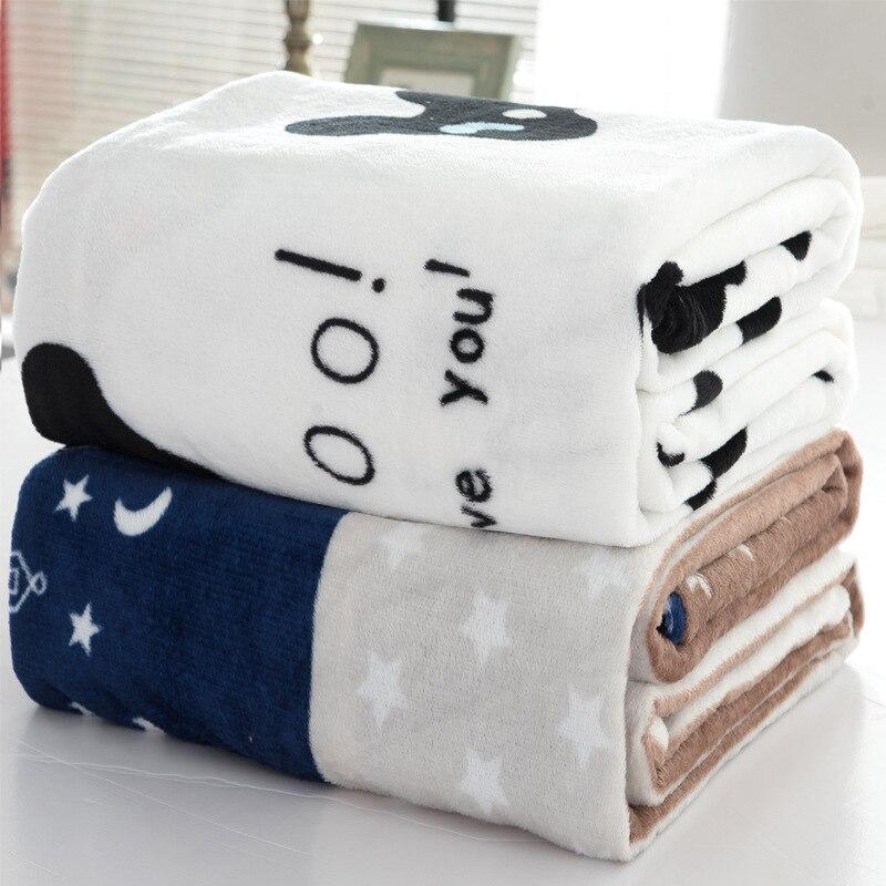 Couleur Aléatoire Accueil Textile pour Air/Canapé/Literie Jette Flanelle Couverture Hiver Chaud Doux Drap 50*70 cm