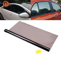 POSSBAY Black Window Tint Film 50*600cm Car Sticker Heat insulation Protection UV proof Tinting 35% VLT Side Window Sun Visor