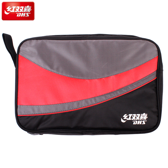 4f2f5f718337 DHS Original Table Tennis Bag Double layers   one layer for 2 Rackets Ping  Pong Case