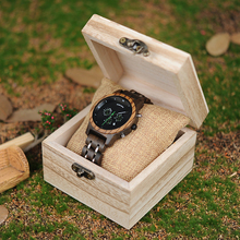 WSW Wood-Style Quartz Watches – Versatile 2411.3