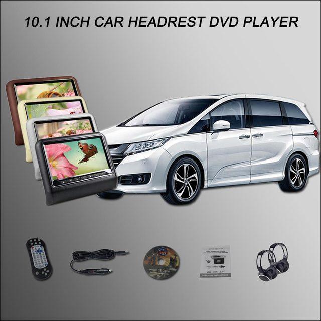 BigBigRoad-écran de voiture pour Honda ELYSION | Appui-tête, moniteur de voiture 2*10.1