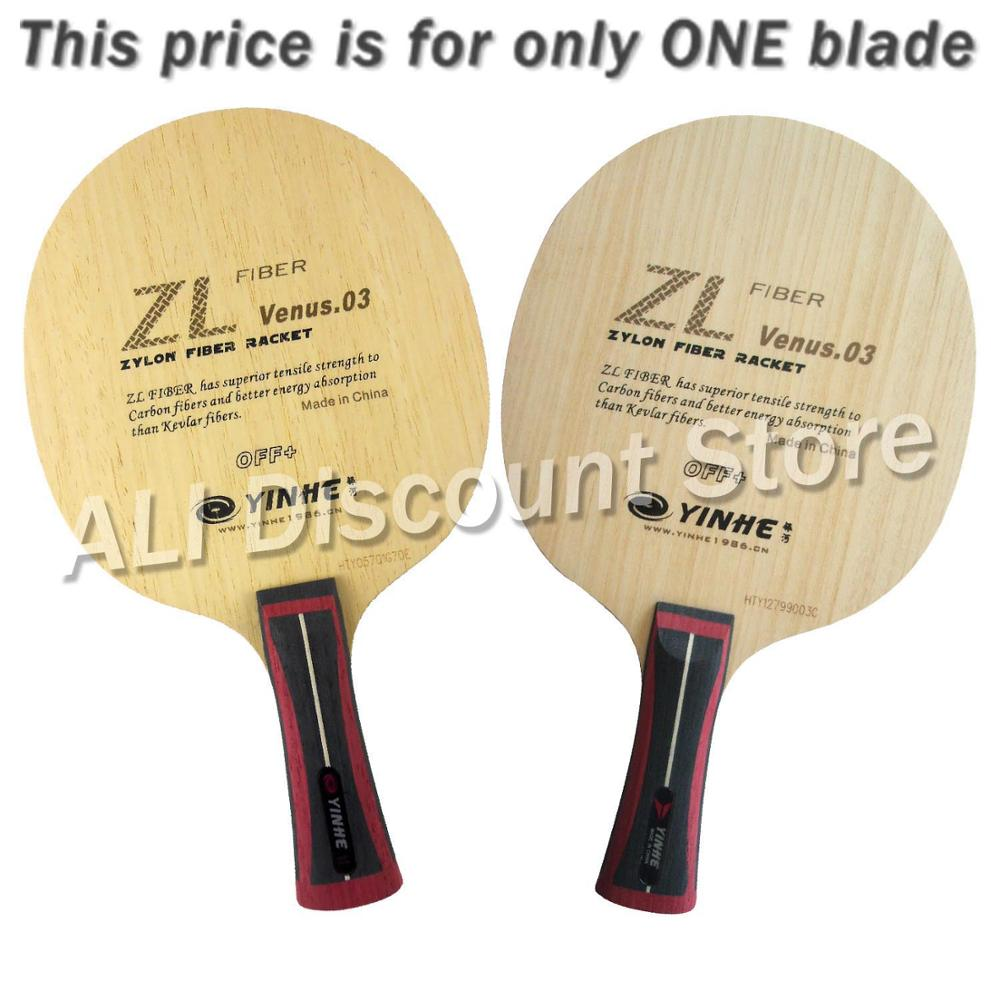 Galaxy Milky Way Yinhe V-3 ZL Venus 03 OFF+ Zylon Fiber Table Tennis Blade for Ping Pong Racket seeing things as they are