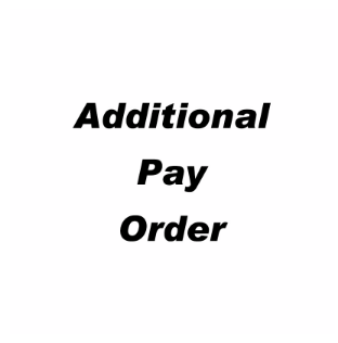 Addtional payment