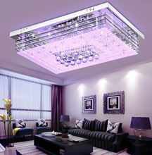 Modern Colorful Ceiling Lighting 4 Color LED With Remote Controler