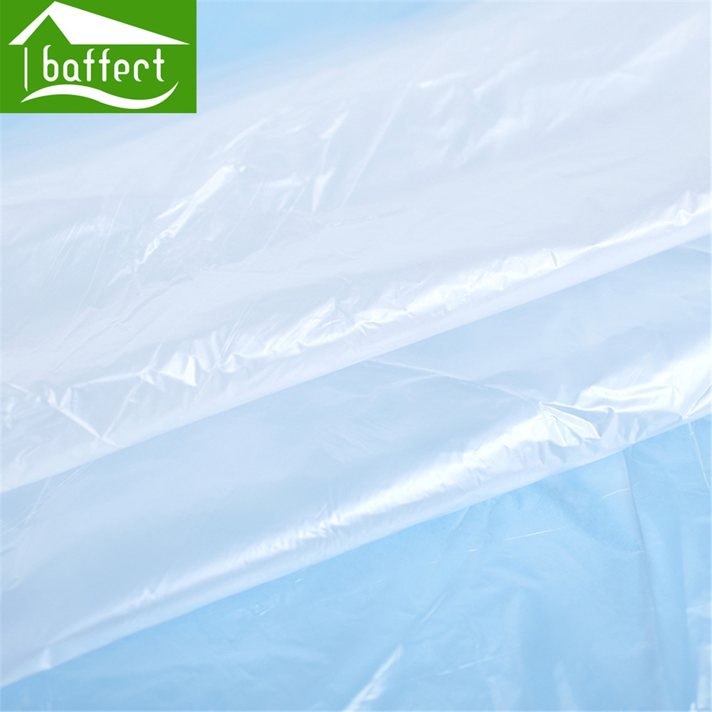 Baffect Disposable Travel Bathtub Film Foldable Thickened Disposable ...